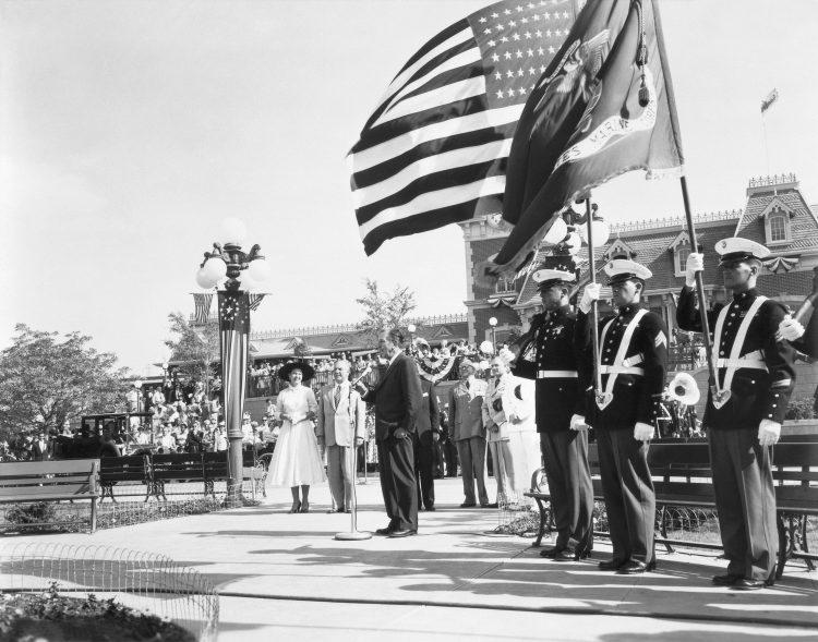 Opening Day Dedication July 17 1955 Disneyland News