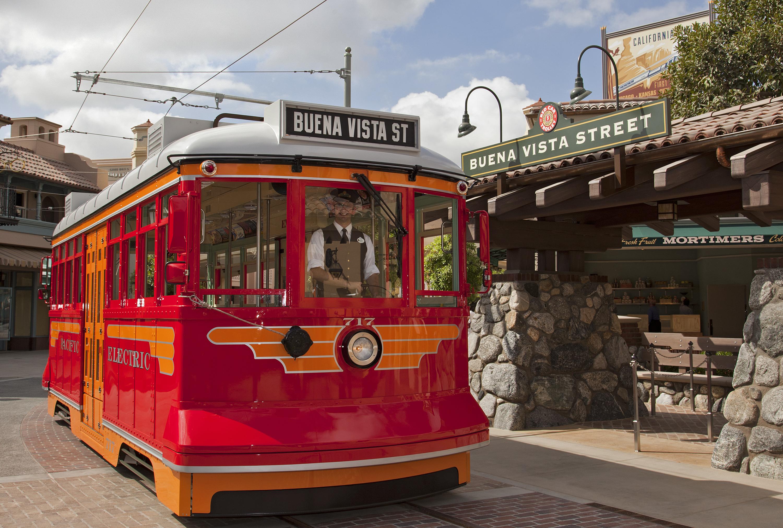 The Red Car Trolleys of Buena Vista Street
