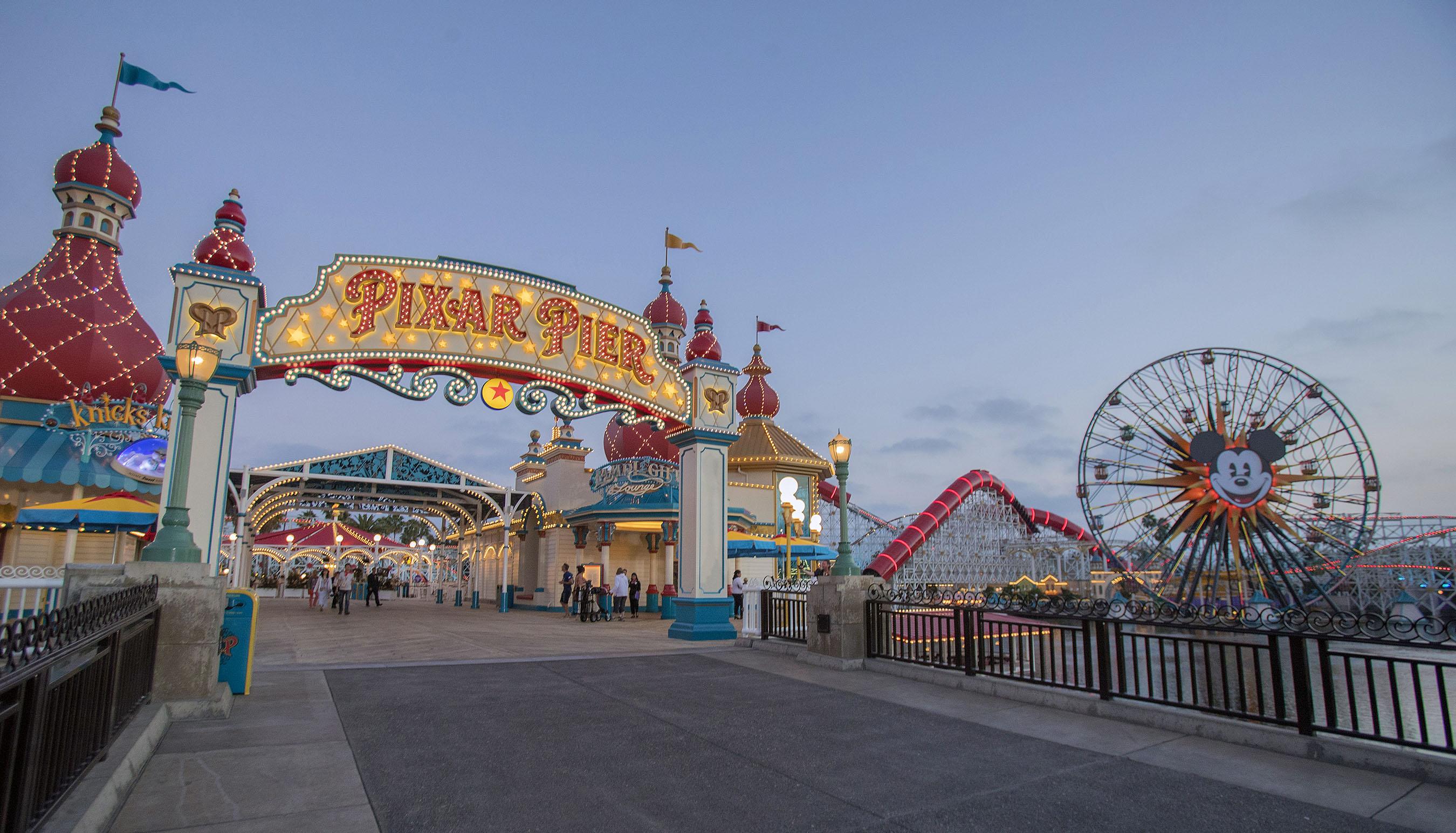Disneyland Resort Presents Pixar Pier Where Guests Step into Beloved Pixar Stories at Disney California Adventure Park