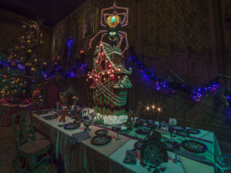 haunted mansion holiday gingerbread house - Haunted Mansion Nightmare Before Christmas