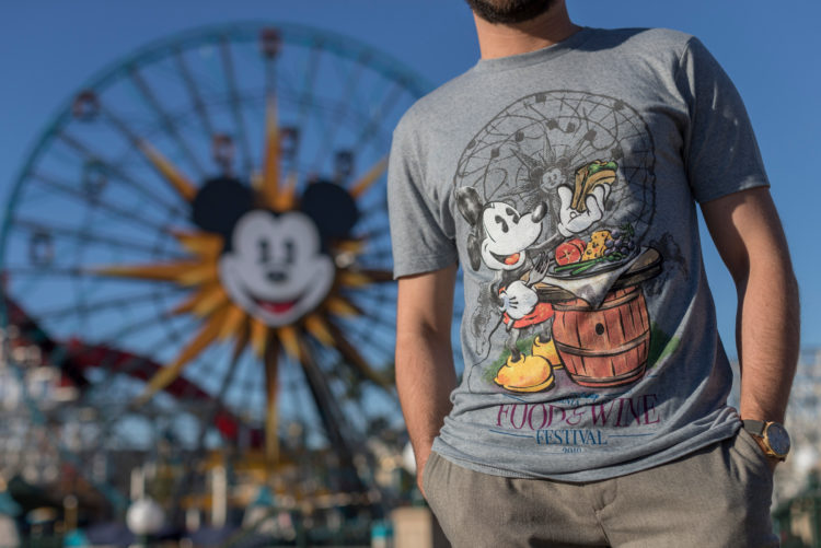 Disney California Adventure Food Wine Festival Merchandise