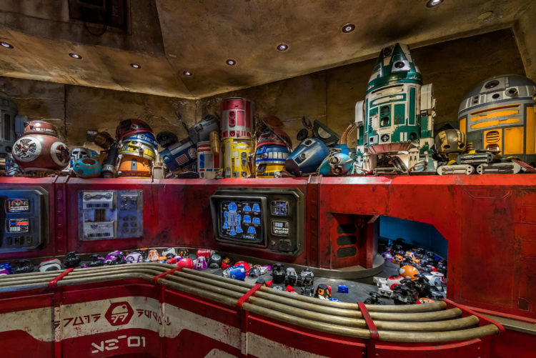 Image result for droid depot star wars galaxy's edge