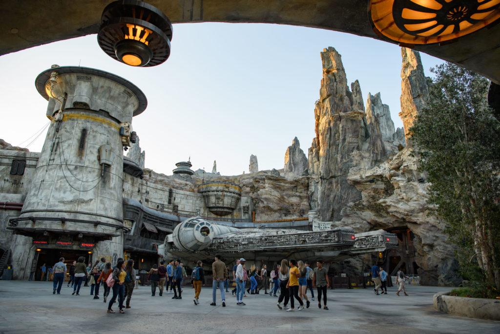 It's a huge investment Disneyland