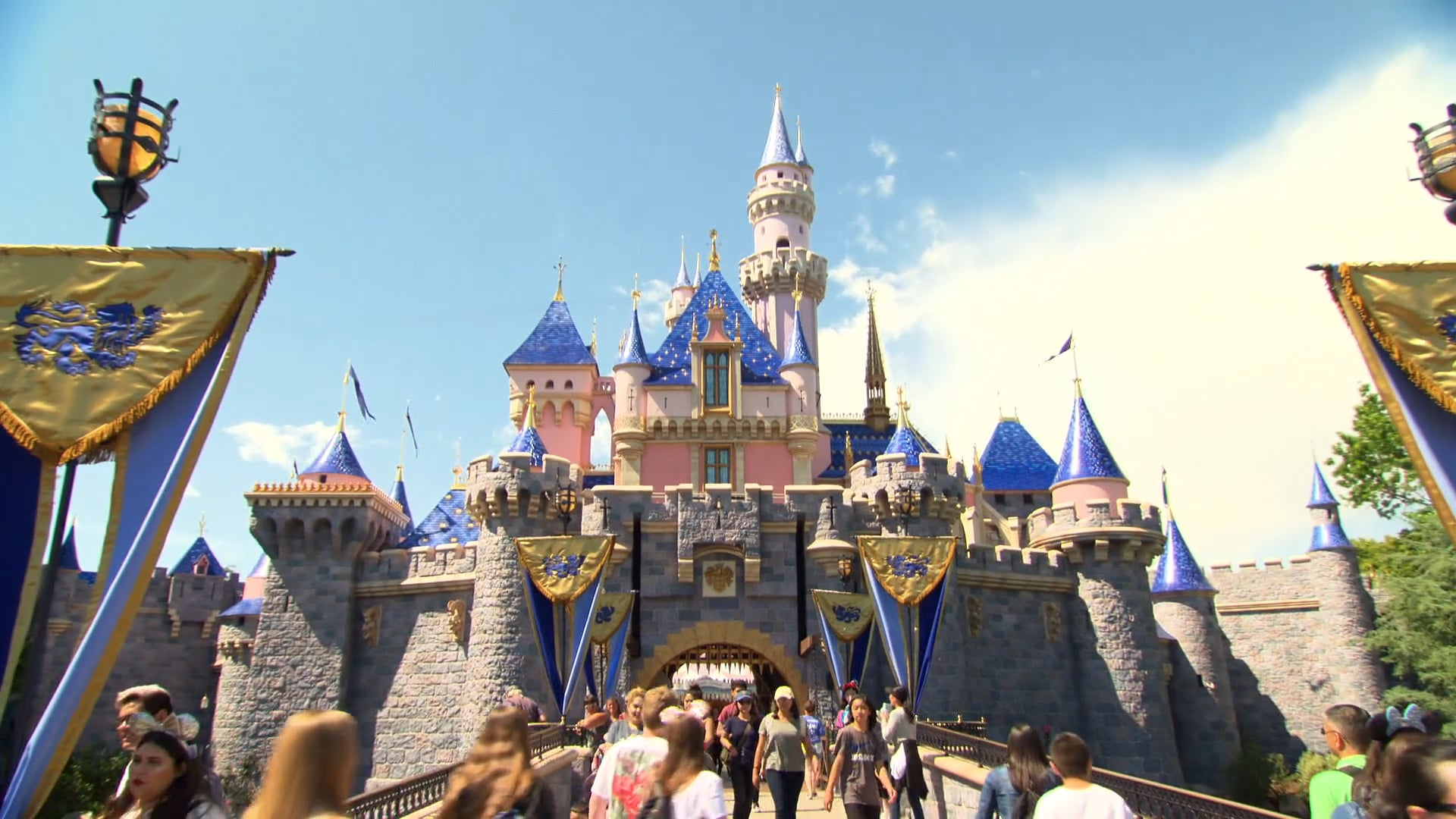 Sleeping Beauty Castle 2019 B-Roll | Disneyland News