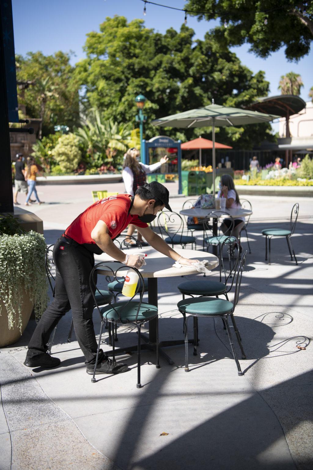 Downtown Disney temp screenings