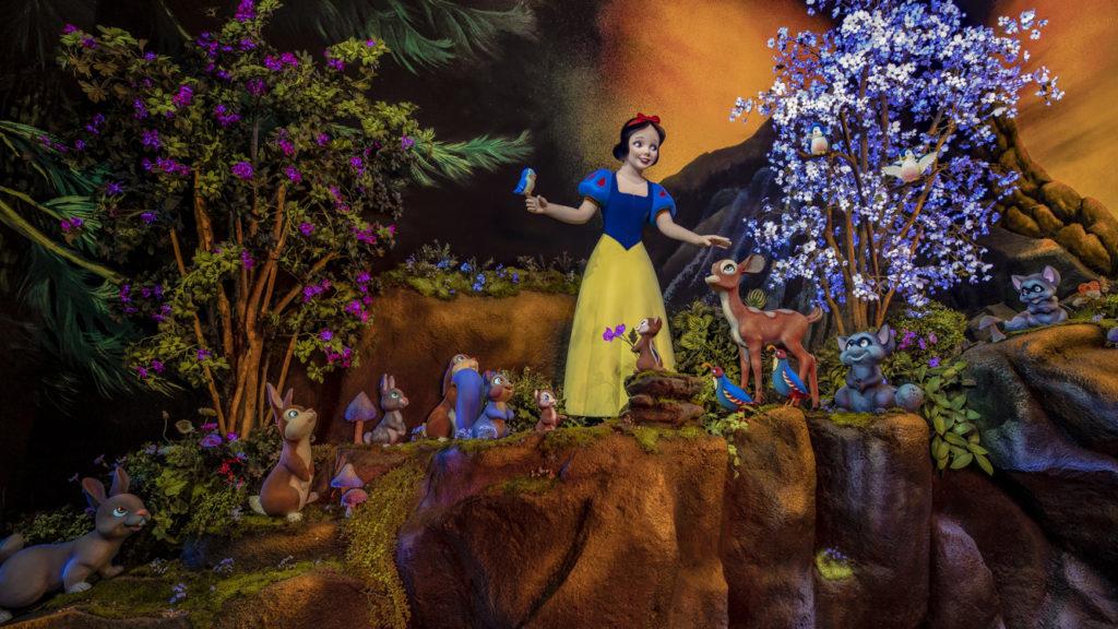 Disney revela nova cena de atração da Branca De Neve
