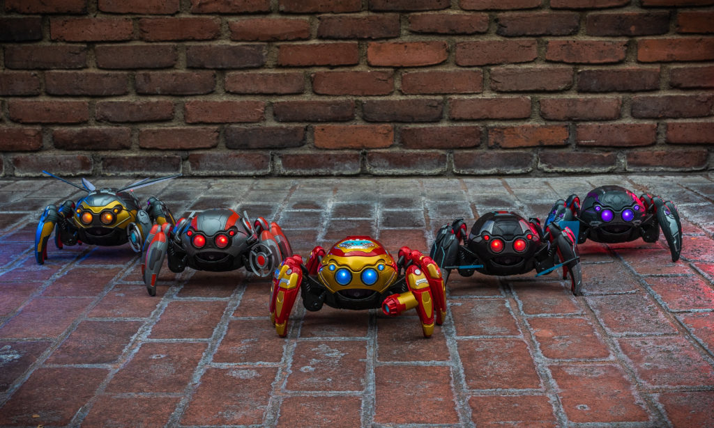 Avengers Campus terá arena de batalha para Spider-Bots