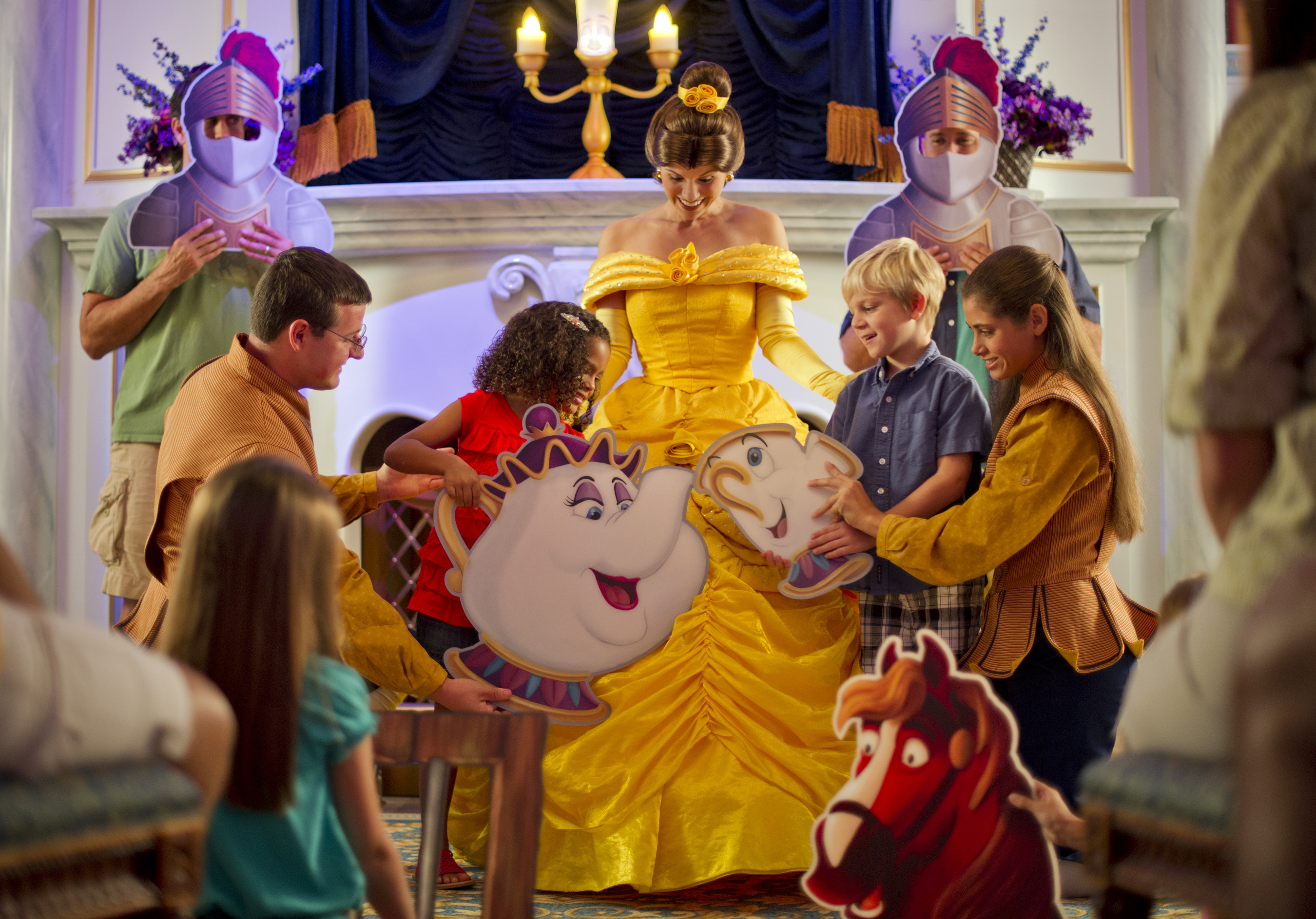 New Fantasyland Guests Live Out Their Beauty And The Beast Dreams