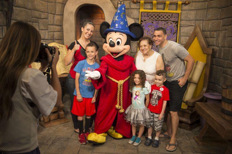 Disney character greetings at disneys hollywood studios walt mickey mouse greets guests at disneys hollywood studios m4hsunfo