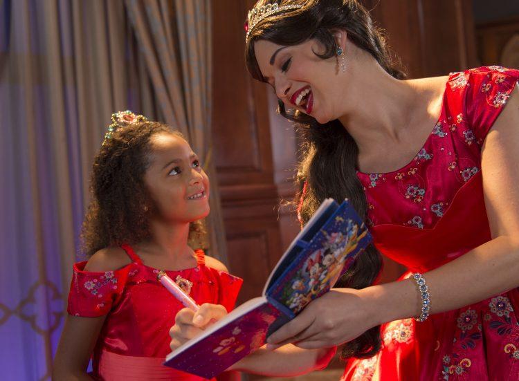 Disney character meet and greets at magic kingdom park walt disney princess elena of avalor at princess fairytale hall m4hsunfo