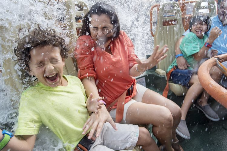 Kali River Rapids in Disney's Animal Kingdom will get you wet to beat the summer heat in Disney Parks