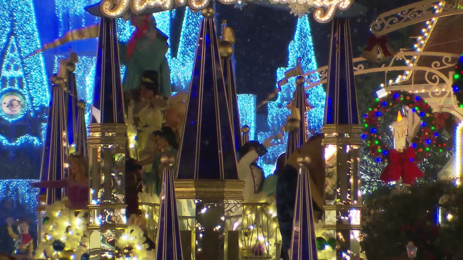 Mickey Christmas Party.Magic Kingdom B Roll Mickey S Very Merry Christmas Party