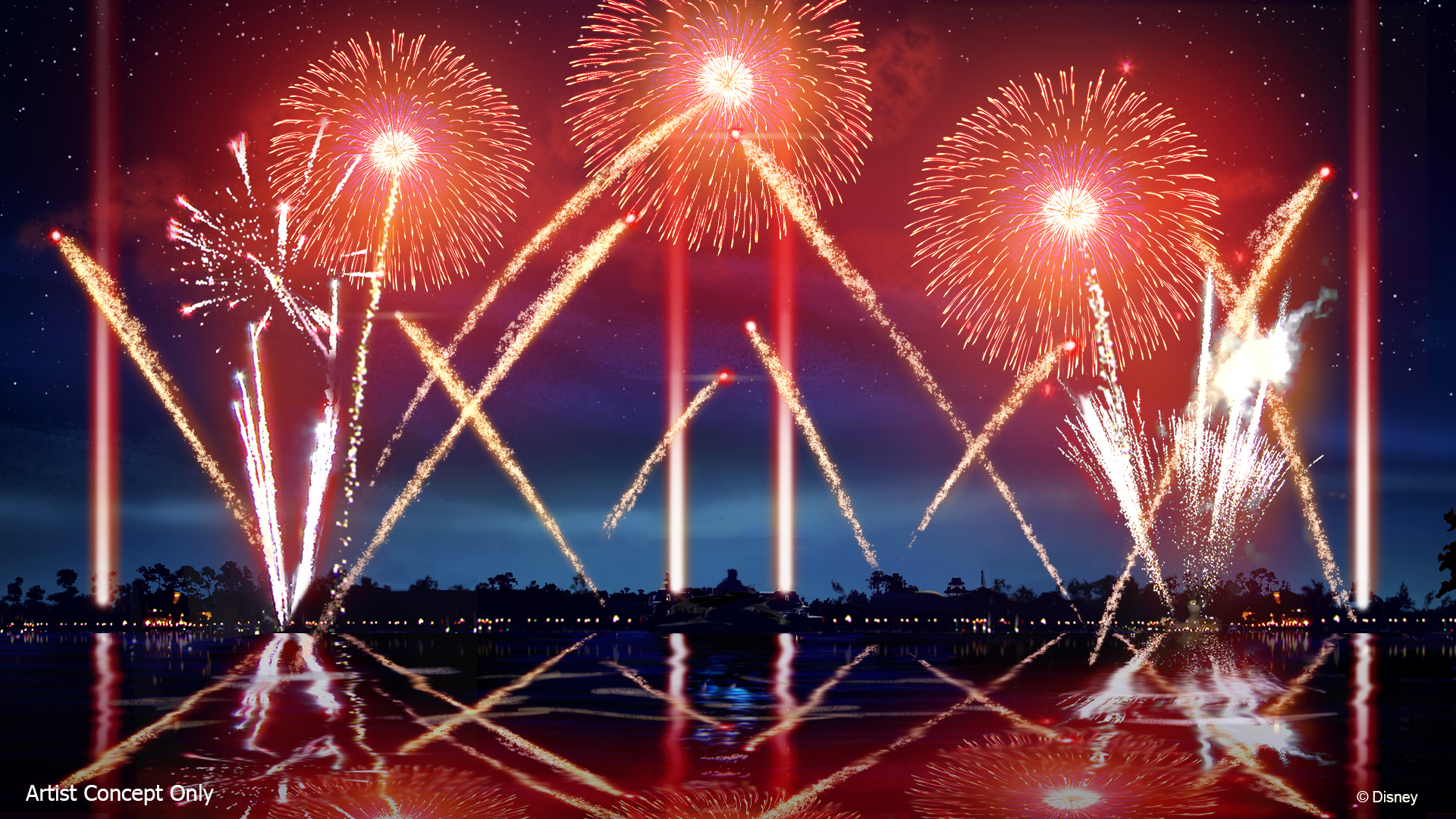 New Nighttime Spectacular 'Epcot Forever' to Debut Oct  1 at