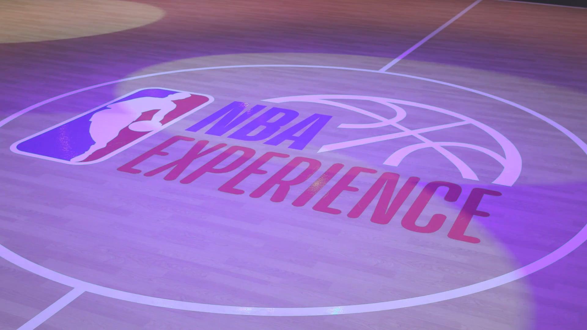 NBA Experience: B-Roll   Walt Disney World News