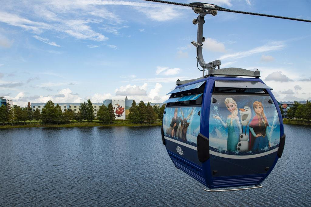 Disney Skyliner entrará em manutenção em janeiro/2022