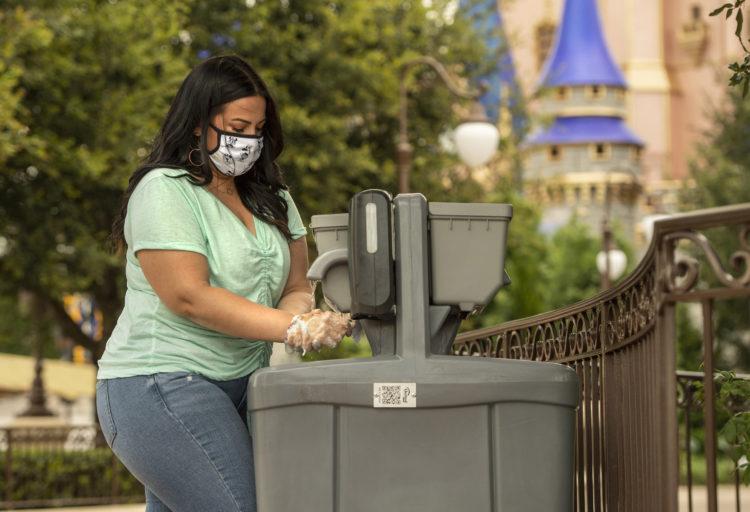 Disney começa a remover pias temporárias