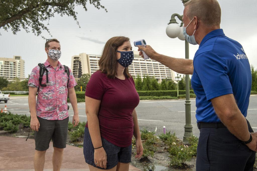 URGENTE: Disney World não terá mais triagem por temperatura corpórea