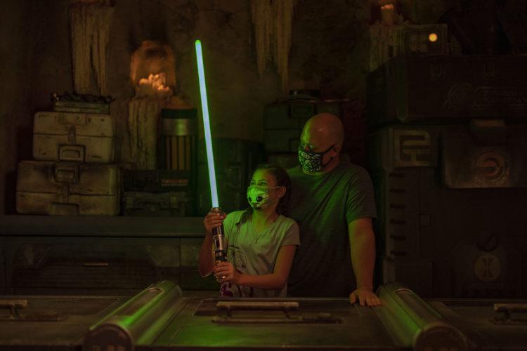 Sabre de luz fica mais caro no Walt Disney World