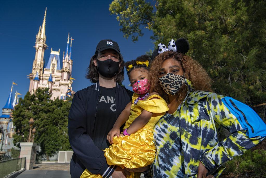 Serena Williams visita o Walt Disney World