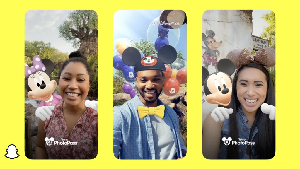 Disney lança filtros em parceria com Snapchat