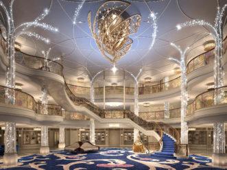 Disney Wish Grand Hall