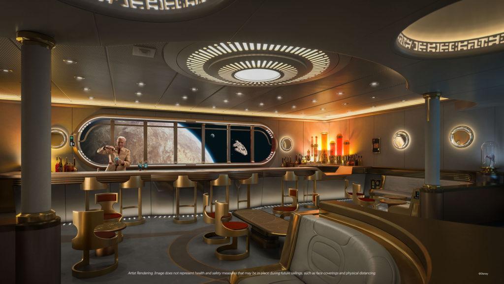 Novo bar de Star Wars exibirá mais de 40 naves