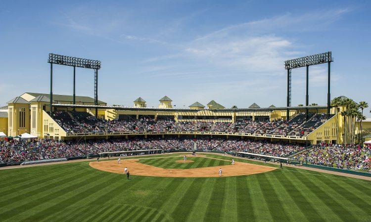 2014 Atlanta Braves Spring Training Games At Champion Stadium At