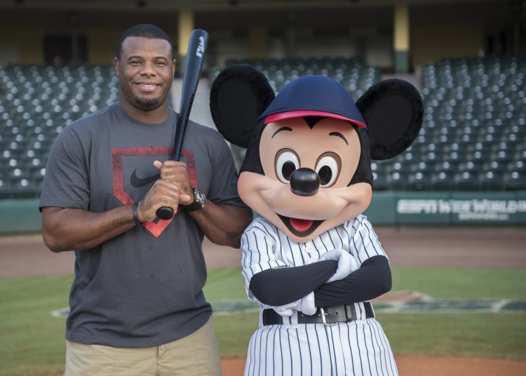 adeb8cfc42 Ken Griffey Jr. Visits ESPN Wide World of Sports Complex | Disney ...