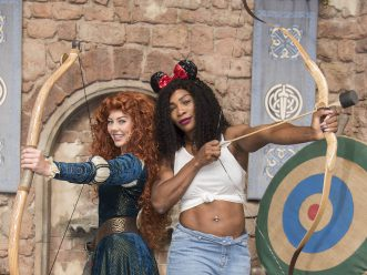 Tennis Star Serena Williams Meets Princess Merida at Walt Disney World Resort